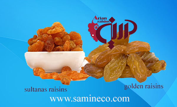 golden raisins vs sultanas